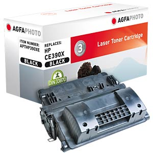 Toner for HP CLJ Enterprise M4555, black AGFAPHOTO APTHP390XE