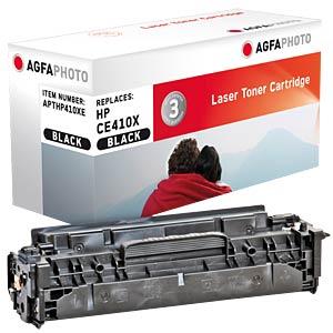 Toner - HP - schwarz - CE410X - rebuilt AGFAPHOTO APTHP410XE
