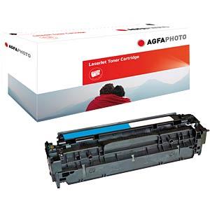 Toner - HP - cyan - 304A - rebuilt AGFAPHOTO APTHP531AE