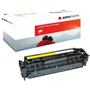 Toner for HP CP2025N, CM2320FXI…, yellow AGFAPHOTO APTHP532AE