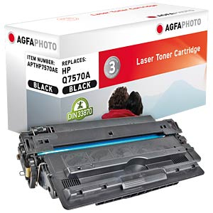Toner for HP M 5025/M 5035, black AGFAPHOTO APTHP7570AE