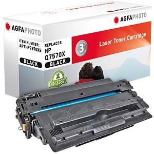 Toner - HP - schwarz - Q7570X - rebuilt AGFAPHOTO APTHP7570XE