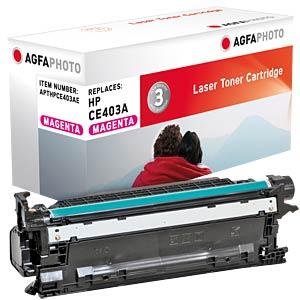 Toner for HP LaserJet Enterprise 500, magenta AGFAPHOTO APTHPCE403AE
