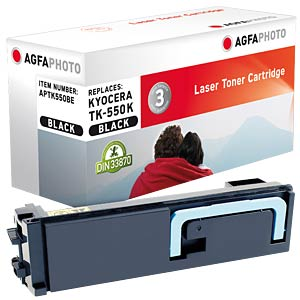 Toner for Kyocera FS-C5200 DN, black AGFAPHOTO APTK550BE
