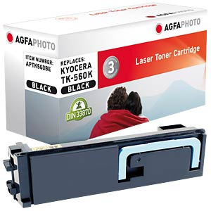 Toner for Kyocera FS-C5300 DN, black AGFAPHOTO APTK560BE
