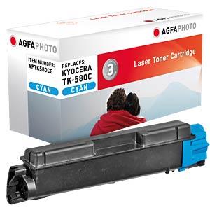Toner for Kyocera FS-5150, cyan AGFAPHOTO APTK580CE