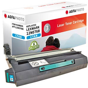 Toner for Lexmark C 910, cyan AGFAPHOTO APTL12N0768E