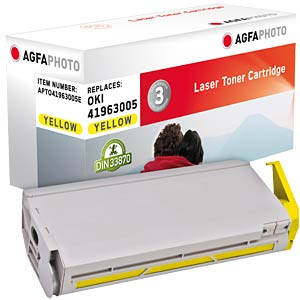 Toner for OKI C 7300, yellow AGFAPHOTO APTO41963005E