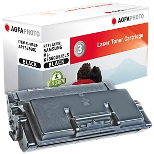 Toner for Samsung ML-3560/3561/N/ND, black AGFAPHOTO APTS3560E