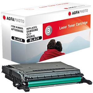 Toner for Samsung CLP 670, black AGFAPHOTO APTS5082BE