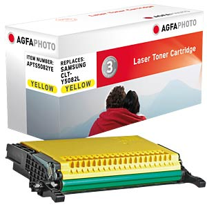Toner for Samsung CLP 670, yellow AGFAPHOTO APTS5082YE