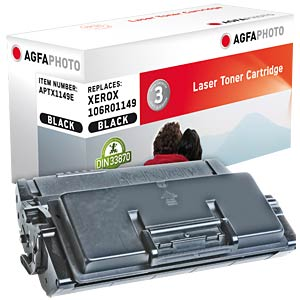 Toner - Xerox - schwarz - 106R - rebuilt AGFAPHOTO APTX1149E