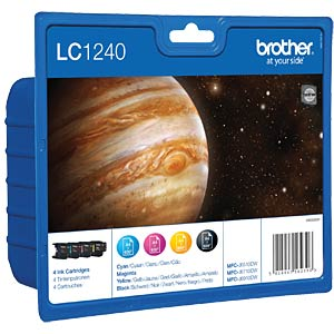 Tinte - Brother - Multipack - LC1240 - original BROTHER LC1240VALBPDR