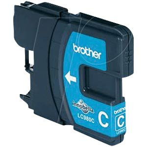Tinte - Brother - cyan - LC980 - original BROTHER LC980C