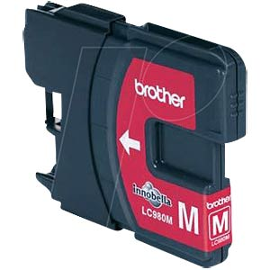 Tinte - Brother - magenta - LC980 - original BROTHER LC980M