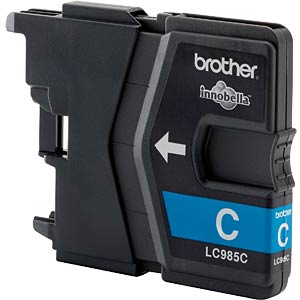 Cyan: Brother DCP-J125, DCP-J315W BROTHER LC985C