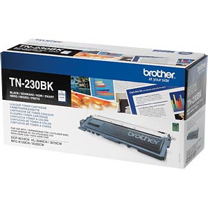 Toner - Brother - schwarz - TN-230 - original BROTHER TN230BK