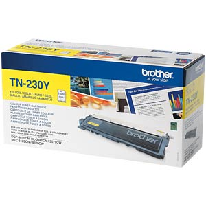 Toner for Brother HL-3040CN, HL-3070CW…, yellow BROTHER TN230Y