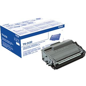 Toner — Brother — black — TN-3430 — original BROTHER TN3430