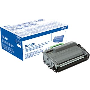 Toner - Brother - schwarz - TN-3480 - original BROTHER TN3480