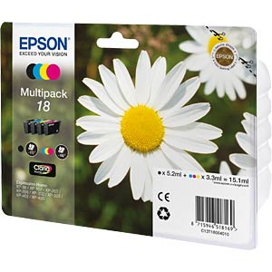 Multi-pack: Expression Home XP-102 EPSON C13T18064010