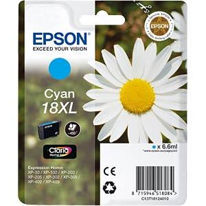 Tinte - Epson - cyan - T1812 - original EPSON C13T18124012
