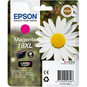 Magenta XL: Expression Home XP-102 EPSON C13T18134010