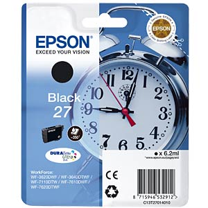 Black: WorkForce WF-3620WF... EPSON C13T27014010