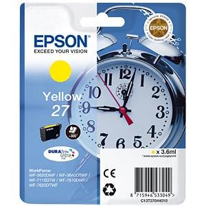 Tinte - Epson - gelb - T2704 - original EPSON C13T27044010