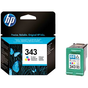 Tinte - HP - 3-farbig - 343 - original HEWLETT PACKARD C8766EE