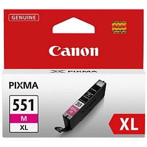Tinte, magenta - CLI-551XL - original CANON 6445B001