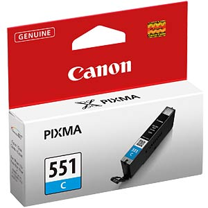 Tinte, cyan - CLI-551 - original CANON 6509B001