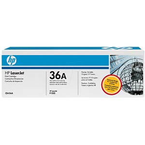 Toner for HP P1505/N/M1120 MFP/M1522 MFP HEWLETT PACKARD CB436A