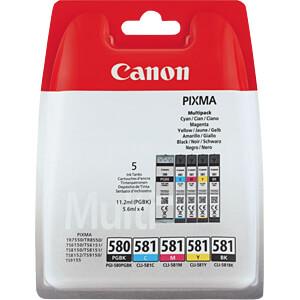 Tinte, Multipack - PGI-580/CLI-581 - original CANON 2078C005
