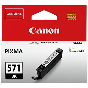 Tinte, schwarz - CLI-571BK - original CANON 0385C001
