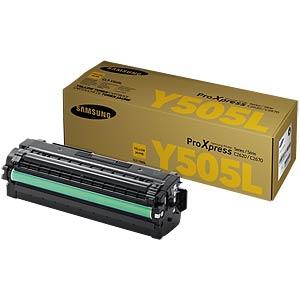 Toner - Samsung - gelb - Y505L - original SAMSUNG CLT-Y505L/ELS