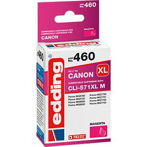 EDDING EDD-460 - Tinte - Canon - magenta - CLI-571XL - refill