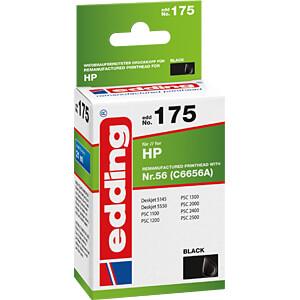 Tinte - HP - schwarz - HP56 - Schwarz EDDING EDD-175