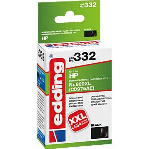 Tinte - HP - schwarz - HP920XL - refill EDDING EDD-332