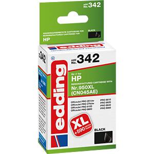 Inkt - HP - zwart - HP950XL - zwart EDDING EDD-342