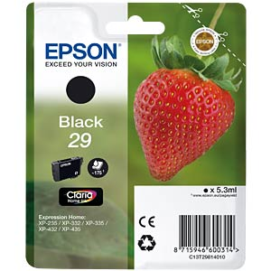 Black: Epson Expression Home EPSON C13T29814010