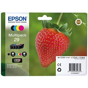 Tinte - Epson - Multipack - 29 - original EPSON C13T29864012
