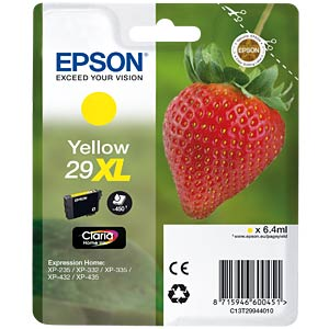 Yellow XL: Epson Expression Home EPSON C13T29944010