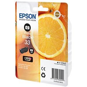 Tinte - Epson - photoschwarz - 33 - original EPSON C13T33414010