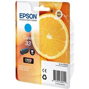 Tinte - Epson - cyan - 33 - original EPSON C13T33424012