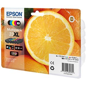 Ink - Epson - multipack - 33XL - original EPSON C13T33574010