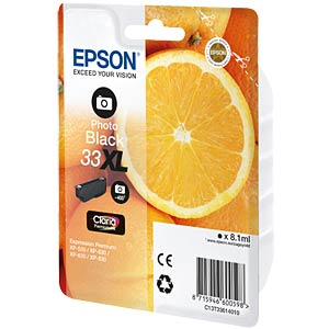 Ink - Epson - photoblack - 33XL - original EPSON C13T33614010