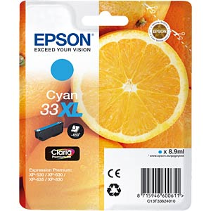 Tinte - Epson - cyan - 33XL - original EPSON C13T33624012