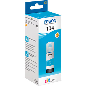 Tinte - Epson - cyan - 104 EcoTank - original EPSON C13T00P240
