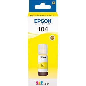 Tinte - Epson - gelb - 104 EcoTank - original EPSON C13T00P440